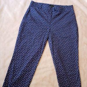 "Talbots ""The Perfect Crop"" Women's Curvy Pants"